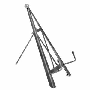 Brushed Silver Tabletop Display Easel 11 90366