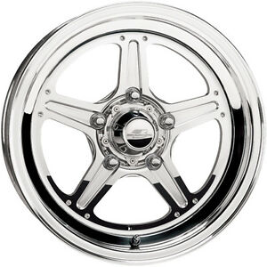 15x10 Billet Specialties Street Lite Polished Wheel 5x4 5 7 5 Bs Rs0351f6575n