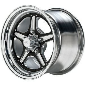 15x10 Billet Specialties Street Lite Black Wheel 5x4 5 7 5 Bs Brs0351f6575n
