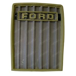 Front Grill Replaces D5nn8200a For A Ford 231 233 2600 3600 3900 4600 5600