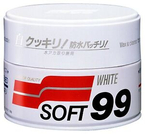 Soft99 New Soft99 White Wax 350g