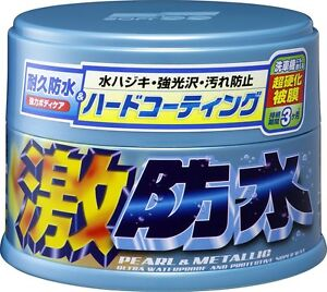 Soft99 Water Block Geki Bousui Wax For Pearl Metallic 300g