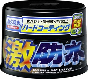 Soft99 Water Block Geki Bousui Wax For Dark Metallic 300g