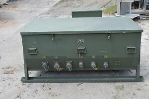 Technical Services Laboratory Mdl 1090 400 Power Distribution Nsn 6110 01 236 58