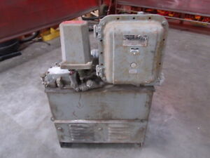Hydraulic Unit Tank And 1 Hp Ge Motor