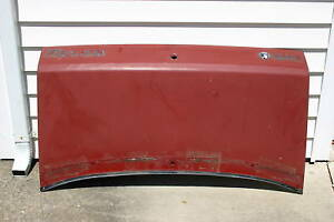 86 94 Classic Saab 900 Turbo Convertible Red Blue Black Or Bronze Trunk Lid
