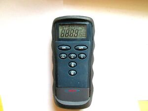 Omega Engineering Hh2001p Type Pt100 Digital Thermocouple Thermometer