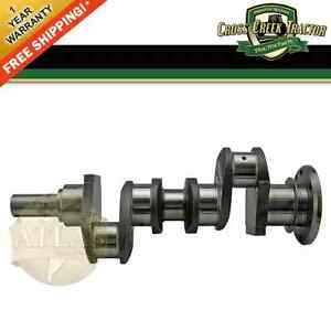 Crankshaft01 New Ford massey Ferguson Tractor Crankshaft Perkins 3 Cylinder