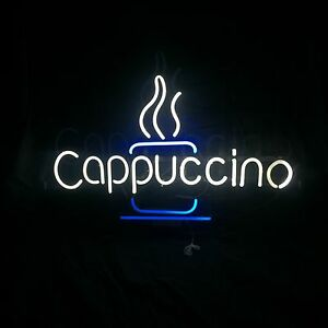 New Cappuccino Neon Sign 20x30x4