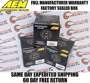 Aem X Series Afr Wideband Uego Gauge Boost Pressure Oil Pressure Gauge Kit