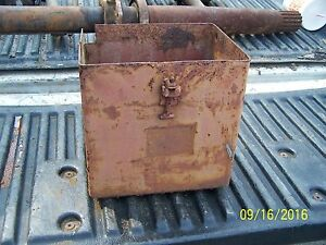 International Farmall A Tractor Battery Box