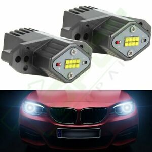 2pcs High Power E90 Lci Angel Eyes Cree Led Upgrade Halo Ring New Bulb 20w Light