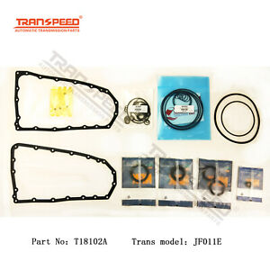 Jf011e Re0f10a For Nissan Cvt Transmission Rebuild Kit Overhaul Gasket T18102a