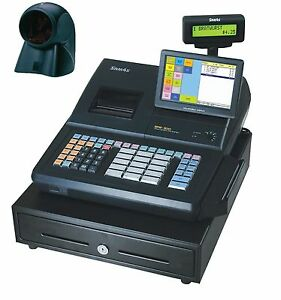 Sam4s Sps 530rt Cash Register With Touch Screen And Orbit Scanner
