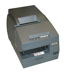 Epson Tm u675 Dot Matrix Receipt Slip Validation Printer Usb No Display M