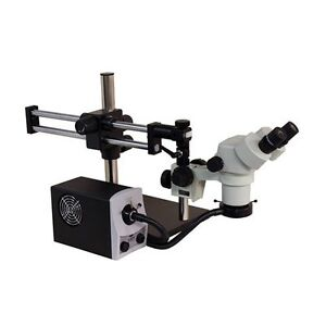 Aven 26800b 303 Stereo Zoom Microscope With Boom Stand Single Arm