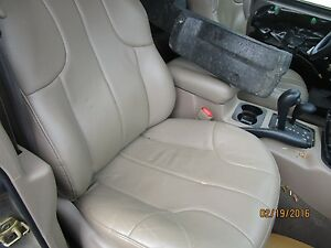 02 03 04 Jeep Grand Cherokee Passenger Leather Tanvery Nice 2002