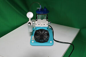 Schuco Vac Aspirator Suction Pump Model 139 With Gauge Nice Working Unit
