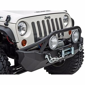 Smittybilt Xrc Front Winch D Ring Bumper For 2007 2018 Jeep Wrangler Jk Jku
