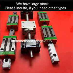 Rolled Ball Screw Similiar As Thk Nsk Lm Guide Bearing Linear Actuator Parts