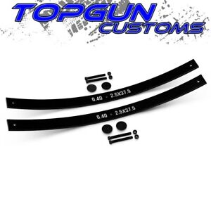 For 1984 2001 Jeep Cherokee Xj Long Add A Leaf Spring 2 Rear Leveling Lift Kit