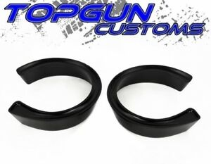 1975 1987 Chevy Gmc C20 C25 C2500 Black 2 5 Coil Spacers Lift Level Kit 2wd