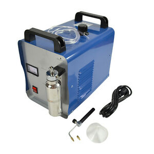75l Oxygen Hydrogen Water Acrylic Flame Polishing Machine Welder Torch Polisher