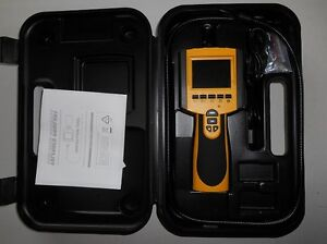2 7 Recordable Inspection Camera Scope With 360 9mm Lead Prope With Leds