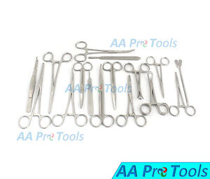Aa Pro Spay Neuter Pack Veterinary Instrument Forceps Scissors Surgical Animal