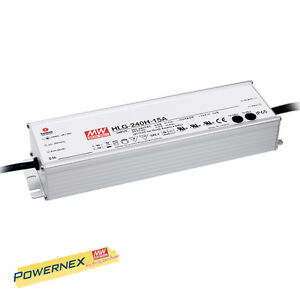 powernex Mean Well New Hlg 240h 24 24v 10a 240w Led Driver Power Supply