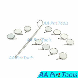 Aa Pro 200 Dental Mouth Mirrors 5 With 05 Handles Excellent Quality