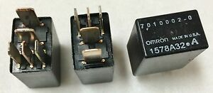 lot Of 30 Omron Spdt 12v G8h 1c7t rb High Current Micro Automotive Relay