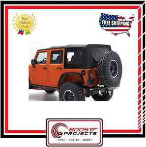 Smittybilt Replacement Soft Top 2007 2009 Jeep Jk Wrangler Unlimited 9080235