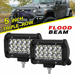 5d 22 Led Light Work Bar Lens Combo Truck 4wd Driving Lamp Jeep Off Road Boat
