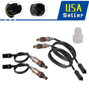 4 Pcs O2 Oxygen Sensor Upstream Downstream For Bmw 323i 325i X3 X5 E39 E46