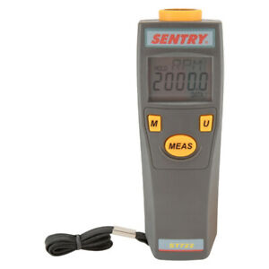 Sentry St 722 Non contact Tachometer Laser Sighting Auto Ranging Fixed Decimal