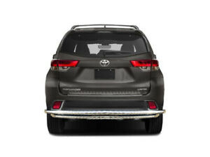 Atu 2001 2020 Toyota Highlander Stainless Double Layer Rear Bumper Guard Protect