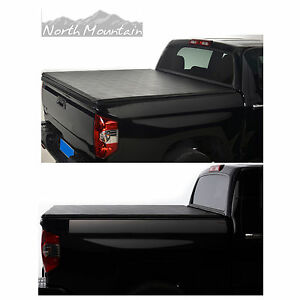 6 5 Feet Soft Roll Up Tonneau Cover Fit 04 14 Ford F 150 06 08 Lincoln Mark Lt