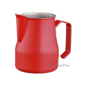 Motta Red Professional Milk Frothing Pitcher 12 Oz 35 Cl Made In Italy