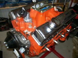 1967 Chevy 327 275hp L 30 Engine
