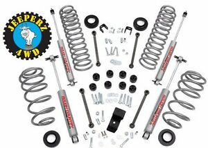 Jeep Tj Wrangler 3 25 Inch Lift Kit W N2 0 Shocks Same Day Free Shipping
