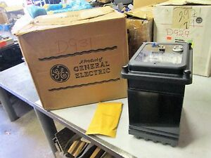 Ge Register Two Stator Watthour Meter Cat 715x50g27 Type Dsl63 Class 20 nib