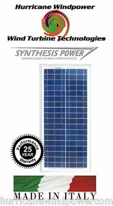 30w 12v Poly crystalline Solar Panel 30 Watt 12 Volt Off Grid Rv Lot Of 5
