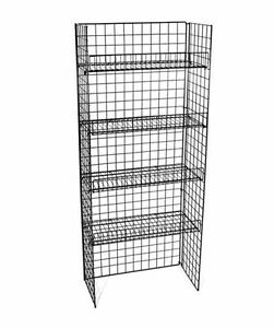 Retail Wire Shelf Display Rack 4 Merchandise Display Racks