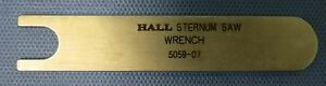 Hall 5059 07 Sternum Saw Wrench