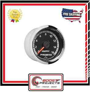 Autometer 0 1600 f Factory Match Pyrometer Gauge 2 1 16 Fits Gen 4 Dodge