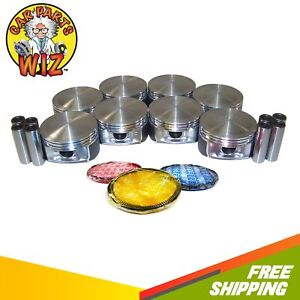 Pistons And Rings Fits 03 06 Chrysler Durango Magnum Ram Hemi Ohv 5 7l