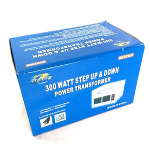 300 Watt Step up step down 110 220vac Transformer St300