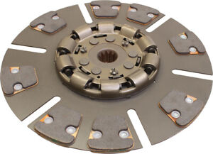 67600 Clutch Disc 8 Pad For International 1066 1086 1206 1256 1456 Tractors
