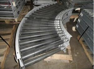30 w X 90 Curve mdr Motor Driven Roller Conveyor automotion 13583